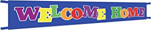 Extra Large Welcome Home Banner,Welcome Home Bunting Banner,Homecoming Deployment Return Party Sign - 9.8 x 1.6 Feet
