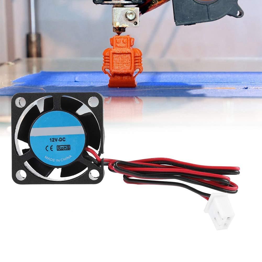 Kafuty Ventilador de Enfriamiento de Impresora 3D DC 12V 2PIN 25 ...