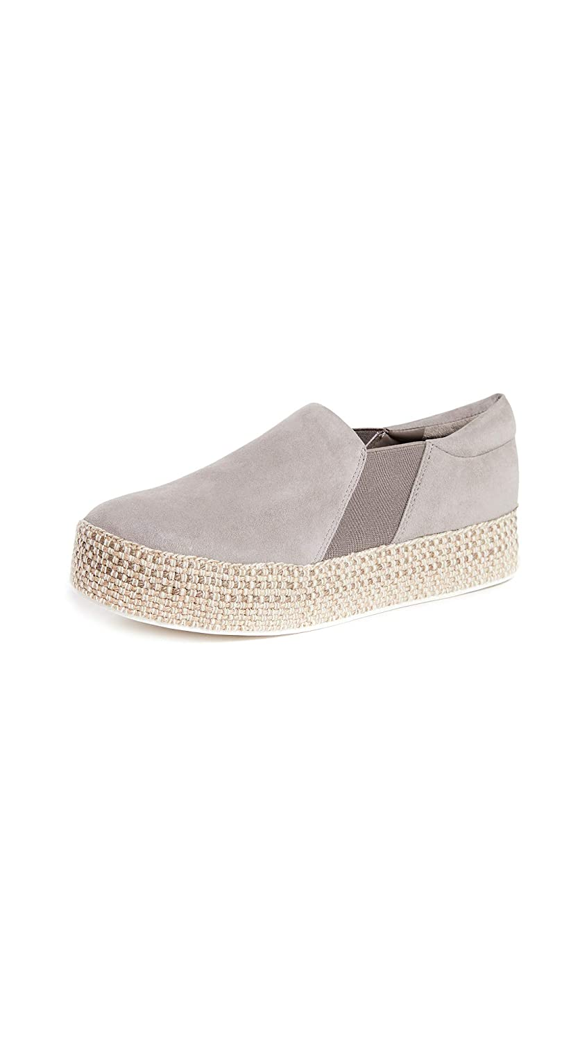 Vince Womens Wilden Platform Slip On Sneakers
