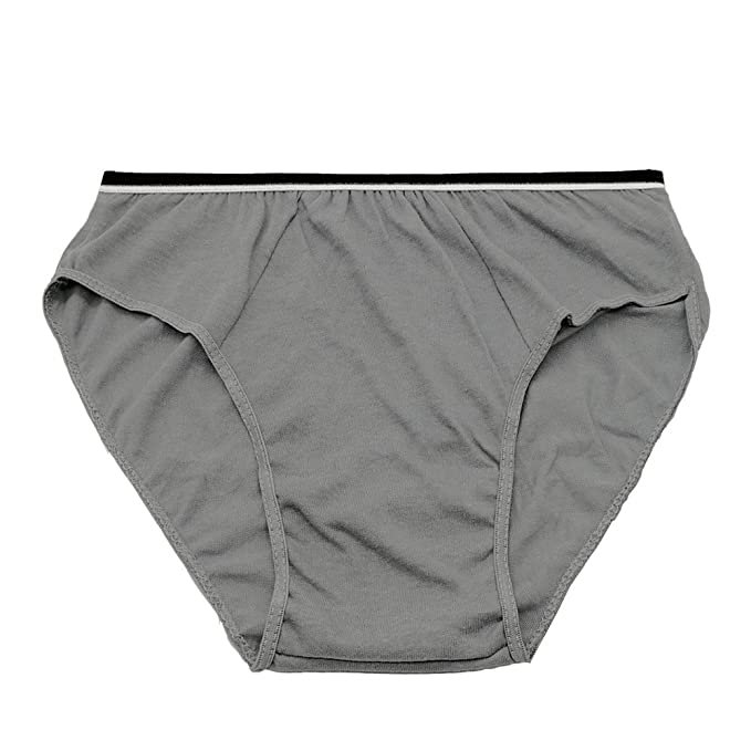 Starly Mens Cotton Disposable Underwear Travel Panties Handy Briefs for  Fitness Grey (10pk) ( 39aed0162428
