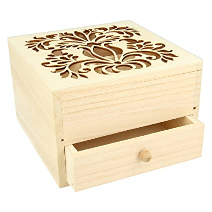 How To Make A Wooden Jewelry Box Inspiration Amazon Artemio DIY Wooden Jewelry Box 60 X 60 X 60 Cm Kitchen