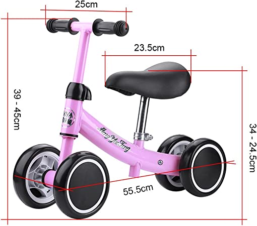 Zerone Entrenamiento del Equilibrio Mini Bicicleta de Bebé sin ...