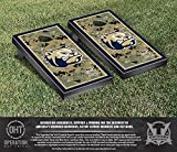 NCAA Wingate University Bulldogs Border Version Operation Hat Trick Cornhole Game Set