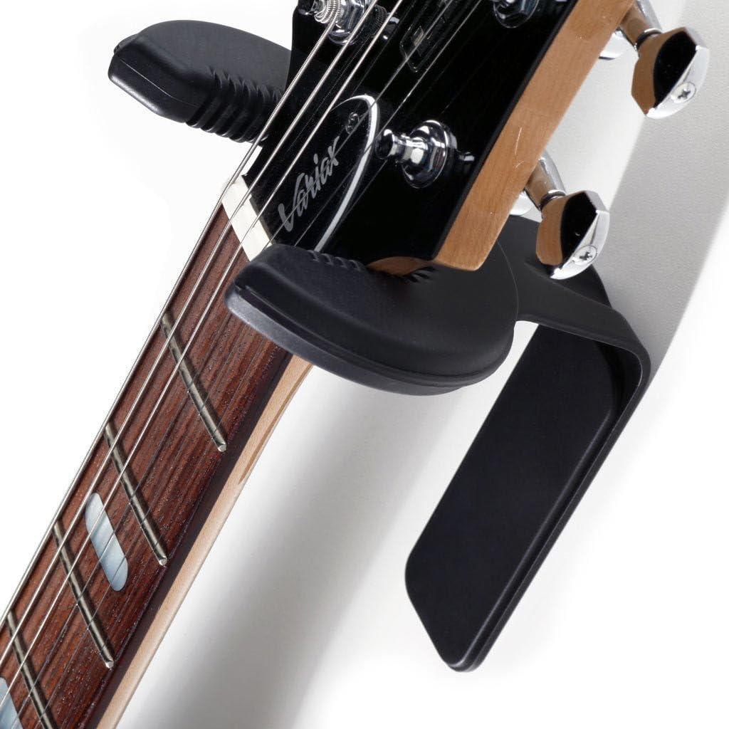D/&A Guitar Gear Grip Guitar Wall Hanger Black