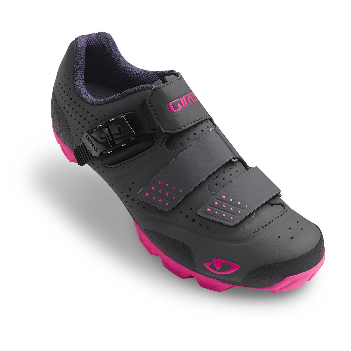 Giro Manta R Cycling Shoes - Women's B01MDKP36W 40.5 M EU|Dark Shadow/Bright Pink