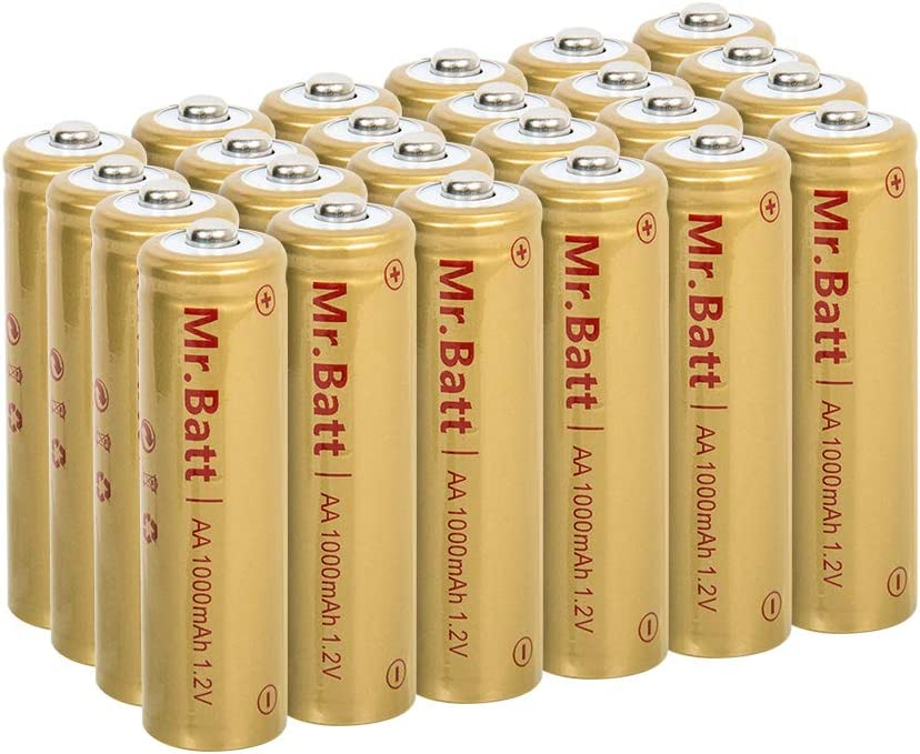 Mr. Batt – Ni-Cd AA - Best Rechargeable Batteries