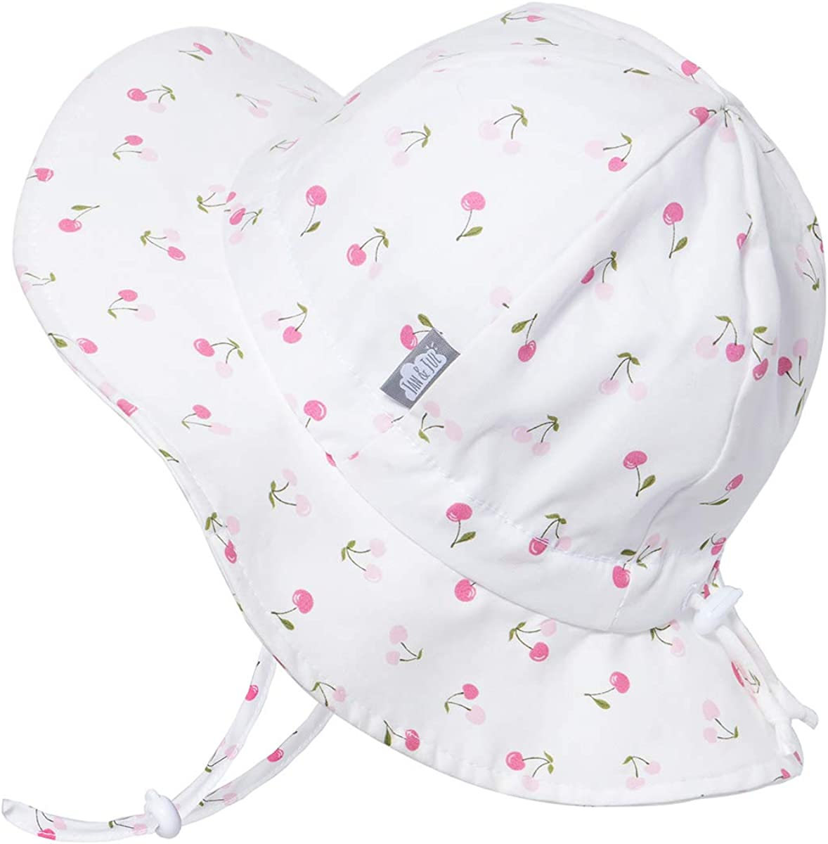 Adjustable Straps Girl Or Boy 50+UPF Jan /& Jul Kids Cotton Floppy Sun-Hat for Baby and Toddler