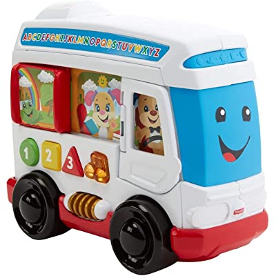 Fisher-Price Laugh & Learn Around Town Bus: Toys & Games