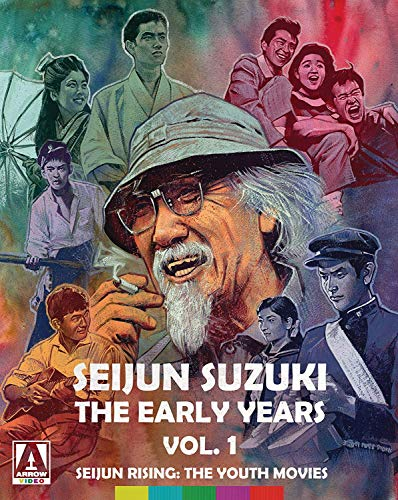 Latest and top rated Seijun Suzuki: The Early Years. Vol. 1 Seijun Rising: The Youth Movies [4-Disc Limited Edition] [Blu-ray + DVD] with best price