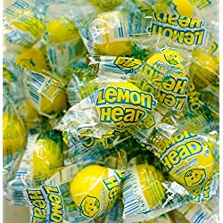 Lemonheads Candy - Individually Wrapped - 1 Pound Bag