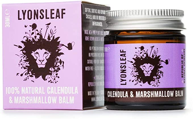 Calendula and Marshmallow Balm - 100% Natural - for dry, cracked, rough,  hard or irritated skin (30ml): Amazon.co.uk: Beauty
