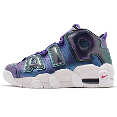 2893e59fec Nike Kid's Air More Uptempo SE GS, Court Purple/Rush Pink, Youth Size