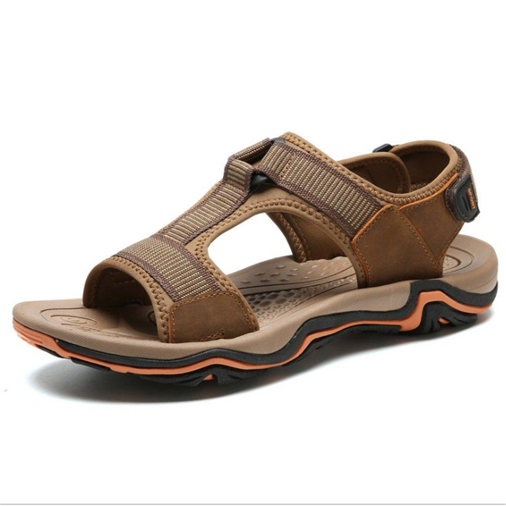Zapatillas Sandalias Sandalias Antideslizantes Y Cómodas para Deportes Al Aire Libre para Hombres (24.0-27.5) CM Zapatos de Playa 40 EU|Marrón