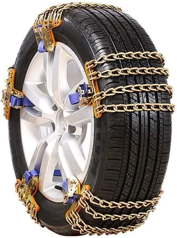 ZLZ- アンチスキッドチェーンタイヤチェーンユニバーサル緊急太い車オフロードチェーンカー緊急チェーンをアンチスキッド しっかり (Color : 10pcs, Size : S (165-195cm))