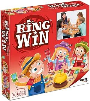 Cayro - Ring Win - Juego de Animales y Naturaleza - Juego de Mesa - Desarrollo de Habilidades cognitivas e Conciencia Corporal - Juego de Mesa (330): Amazon.es: Juguetes y juegos