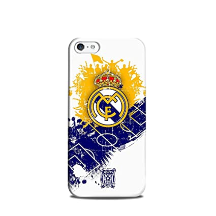 promo code 5146e bb829 Internet Fry Real Madrid C.F. Football Mobile Case Back: Amazon.in ...