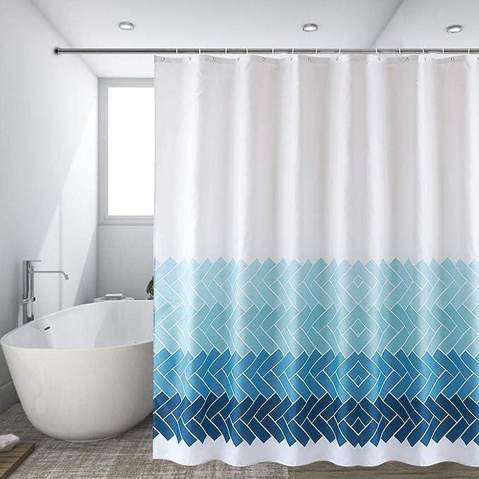 Zouminyy Cortina de baño de Ducha de poliéster Impermeable