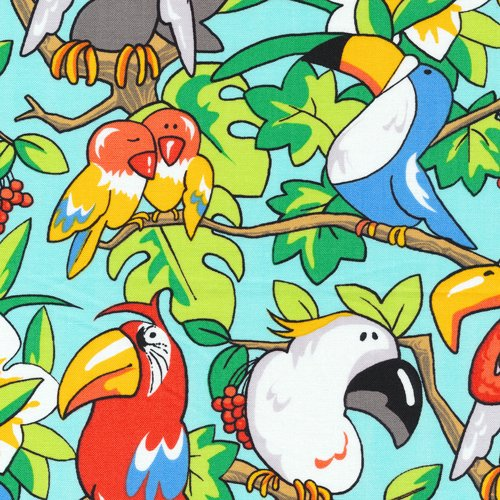 Zany Zoo Animals Quilt Fabric By The Yard Fabri-Quilt