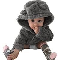 FEITONG Baby Boys' Winter Warm Hoodie Coat Jacket Cute Thick Clothes
