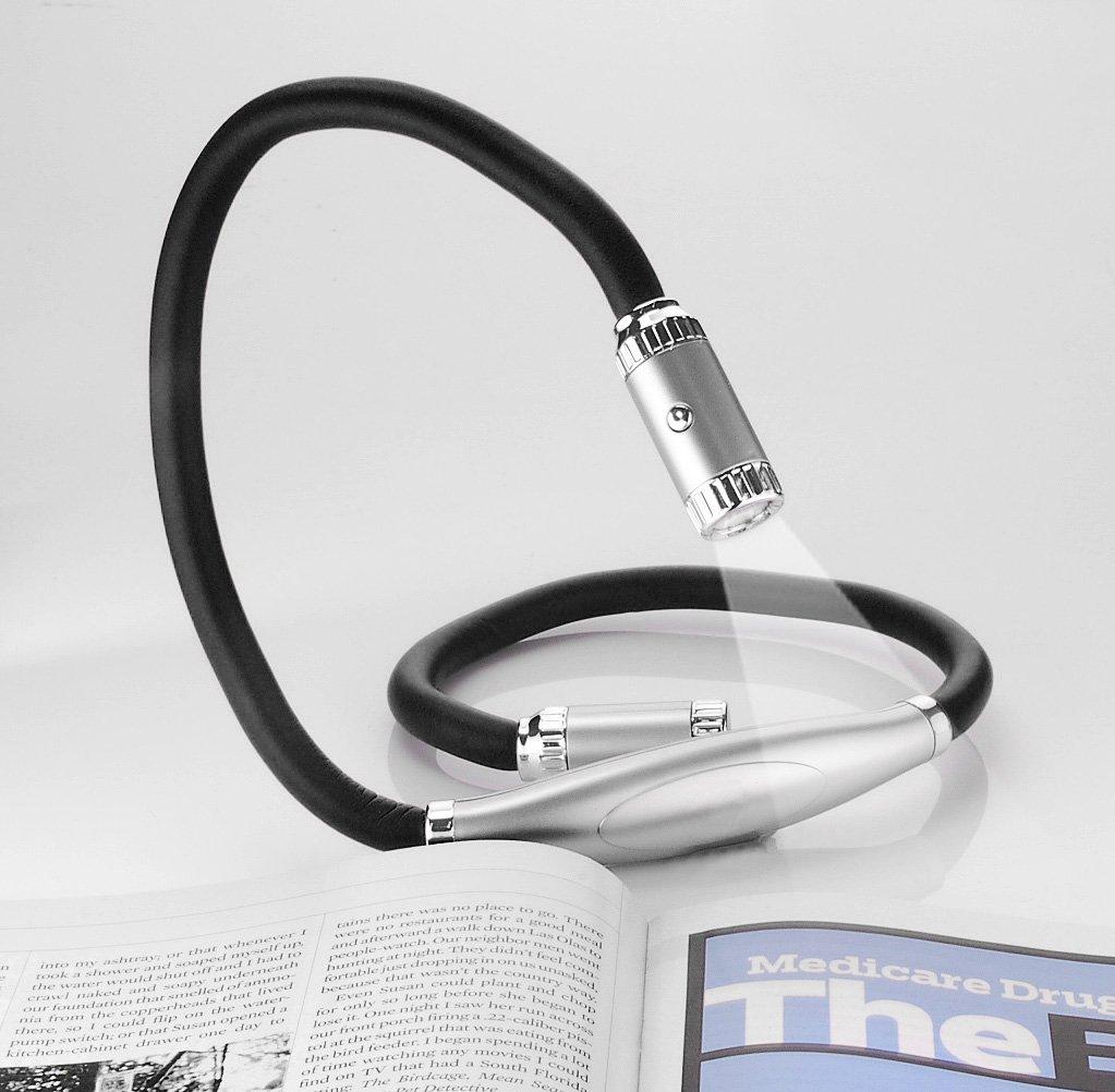 Tech Tools PI-422 Twist A Lite - Hands Free Flexible LED Light, Black