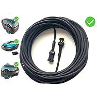 Câble Transformateur pour – GARDENA ROBOTIC SMART SILENO CITY – Robot Tondeuse à Gazon – Basse Tension Câble – pour Modèles: 250, 500, 1000 – (20 mètres [65 pieds])