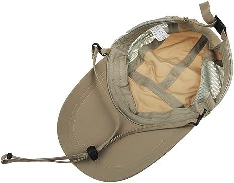 Outdoor-Cappello da legionario per Neonato con Manico Staccabile Traspirante e con Protezione Solare UPF 50 Protezione Completa per Pesca Unisex Caccia
