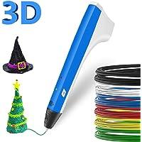 3D Pen Pen Pen pour enfants avec impression 3D Pen Pen Pen Pen Imprimante Intelligente PCL PLA Filament de Remplacement Meilleur cadeau pour les adolescents et les enfants