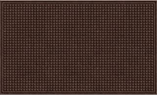 product image for Apache Mills Squares Mat, Walnut, 2-Feet by 3-Feet