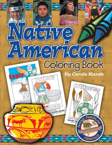 Native American Coloring Book (Native American Heritage)