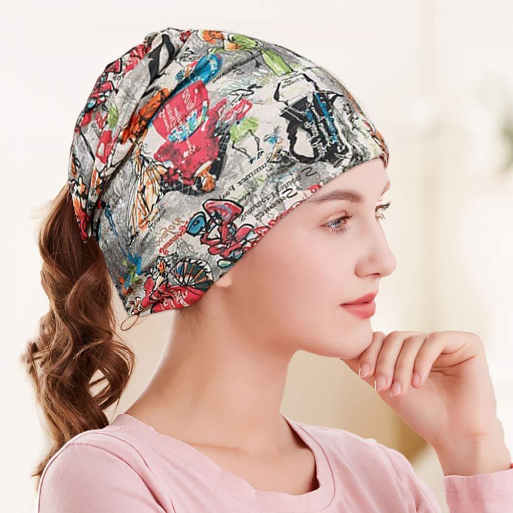 ZOYLINK Beanie Damen mütze Chemo Mütze Headwear Nightcap Beanie Cap mütze damen sommer Schirmmützen Dame