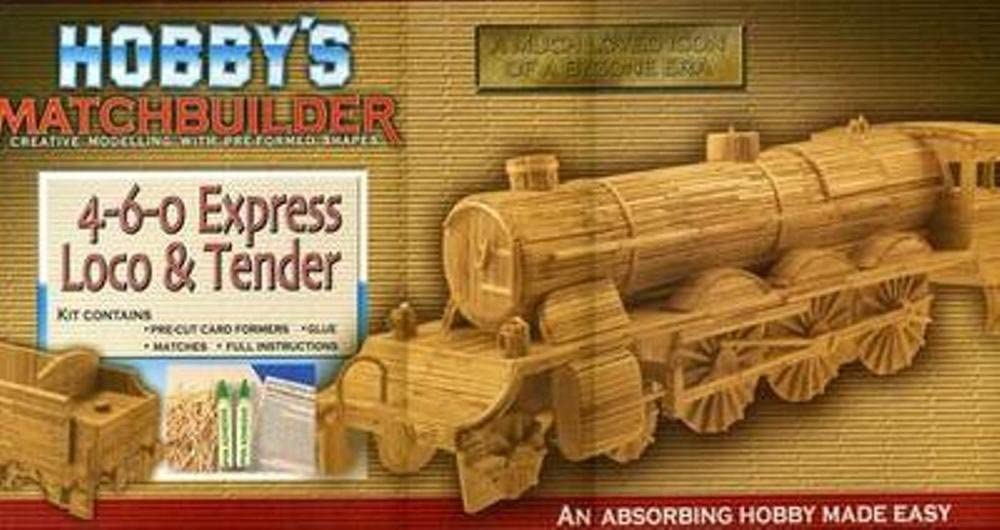 4-6-0 Locomotive Matchstick Kit