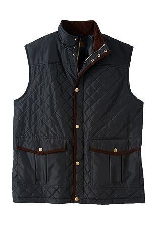 Boulder Creek Men's Big & Tall Quilted Vest, Black Big-2Xl at ... : quilted mens vest - Adamdwight.com