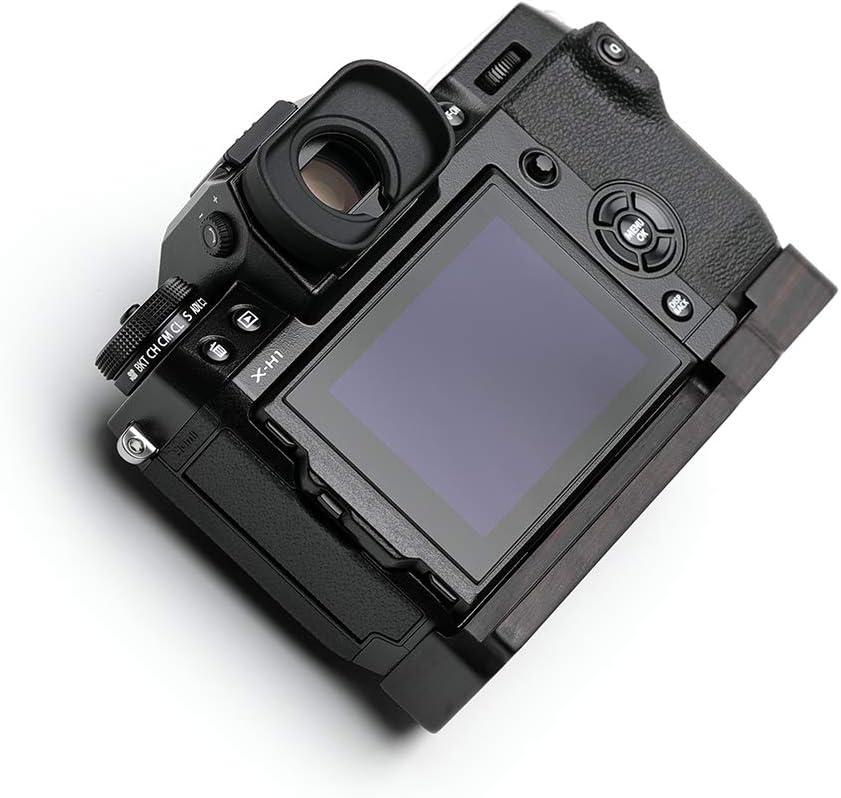 SHINE AWAY for Camera FUJIFILM X-H1 Wood Grip Ebony