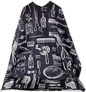 Pattern Cutting Hair Waterproof Cloth Barber Cape Hairdressing Hairdresser Apron Haircut capes - Barber Nylon Sketch Gown Cape Cloth Waterproof hairdresser cape
