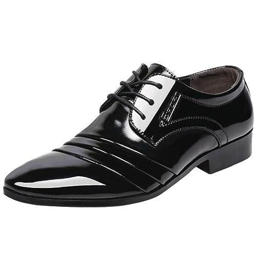 Casual Wealsex Cordones Moda Hombre Verano Derby Zapatos De QderBxoWC