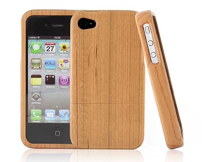 custodia legno iphone 4s