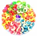 Gift Universe Gummi Rings Candy Gift Tray with Albanese's and Ferrara Candy's Best Seller Fruit Flavored Gummi Ring 6 Section Variety Pack of Candies