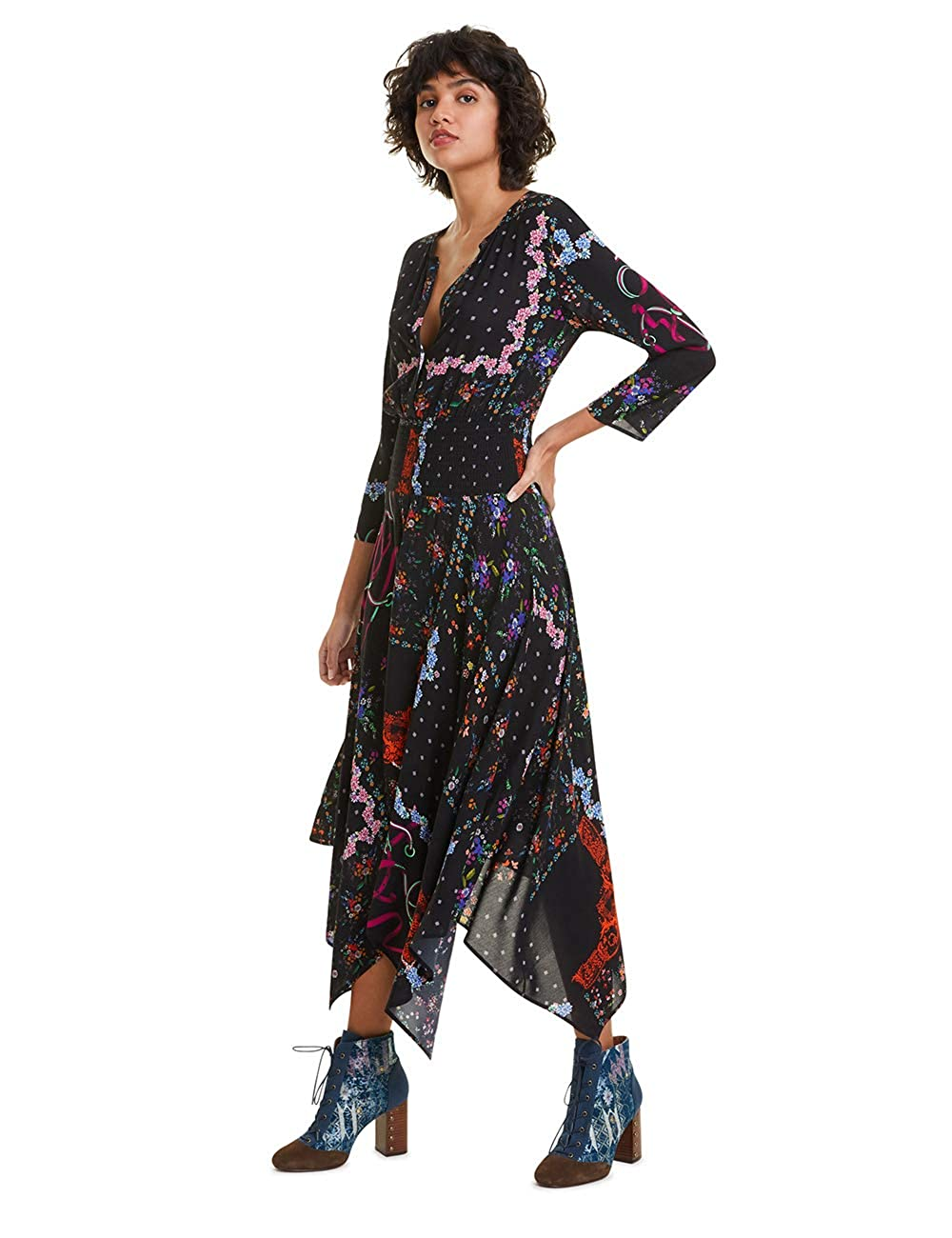 Desigual Dress Jana Vestito Donna