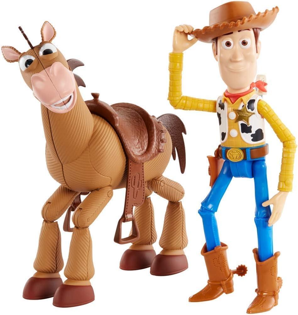 Disney-Toy Story 4 4-Pack de aventuras de Woody y Perdigón, juguetes niños +3 años GDB91, multicolor (Mattel