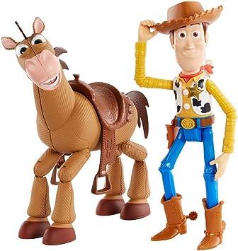 Comprar Disney Toy Story 4 Pack de aventuras de Woody y Perdigón, juguetes niños + 3 años (Mattel GDB91)