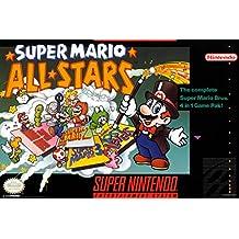 Super Mario All Stars Super Nintendo NES Game Series Box Art Yoshi Luigi Princess Poster - 12x18