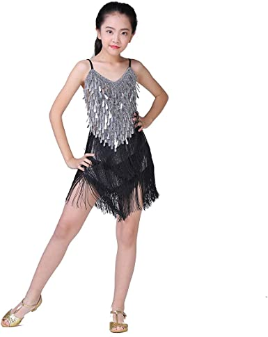 ids dancewear charleston sequin dresses Girls