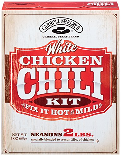 Carroll Shelby's White Chicken Chili (Pack of 8)