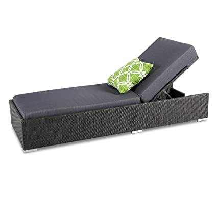 Terrific Amazon Com Outdoor Adjustable Chaise Lounge Chair 6 Inches Pdpeps Interior Chair Design Pdpepsorg