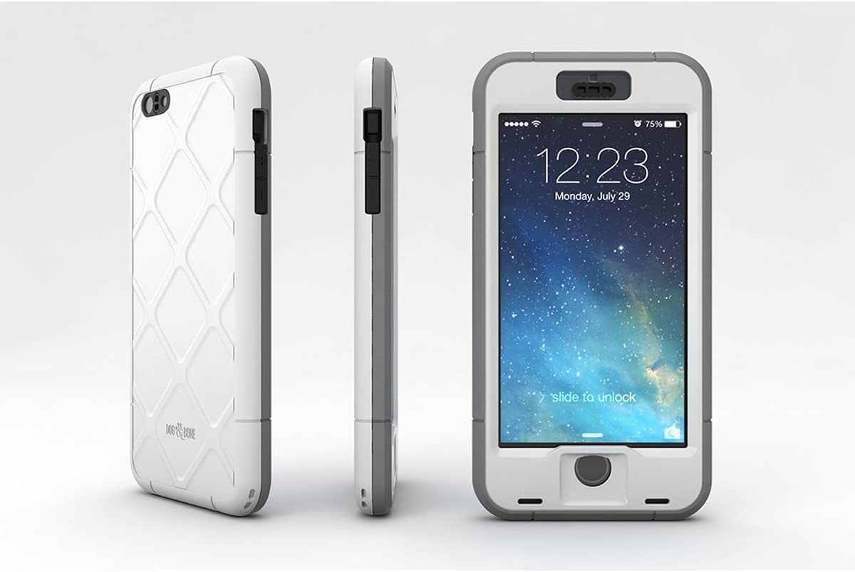 "Black New Dog /& Bone Wetsuit Waterproof Slim Rugged Case for iPhone 6 Plus 5.5/"""
