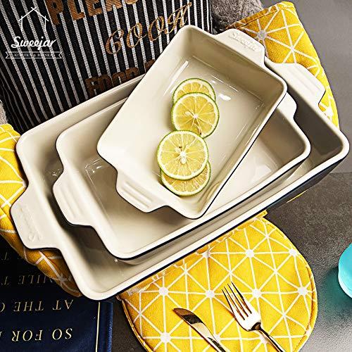 Prepare your sides using this ceramic bakeware set