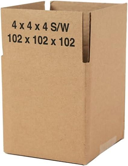 Priory Direct Cajas de Cartón en Marrón - Reciclable de Una Pared ...