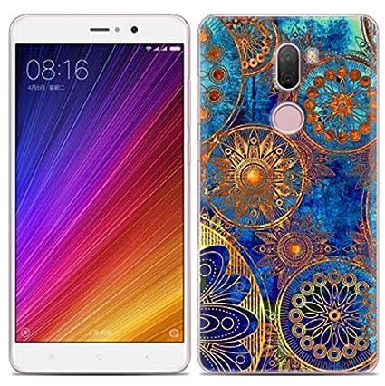 PREVOA Funda para Xiaomi Mi5S Plus - Colorful Silicona TPU Funda Case para Xiaomi Mi5S Plus Smartphone - 34
