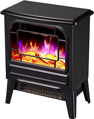 Fineway Electric Stove Heater with Log