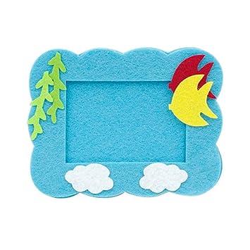 Amazon Com Diy Toy Kasien Handmade Picture Frame Kids Learning Diy